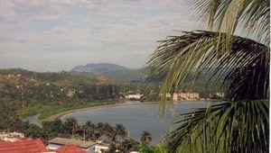 En hélico à Baracoa