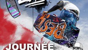 Test ailes et boards de Best Kiteboarding à La Franqui ce dimabnche apres midi.
