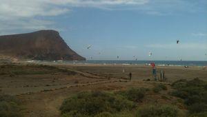 Pas de vague au sud ouest de tenerife.