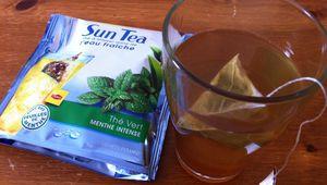 Thé à l'eau fraiche