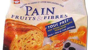 Essai Pain Francine Fruits et Fibres