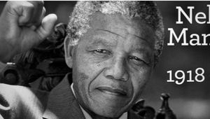 HOMMAGE A NELSON MANDELA...