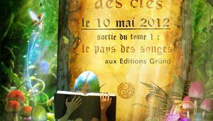 Relais de la sortie du livre LE MAITRE DES CLES de Benoit Grelaud