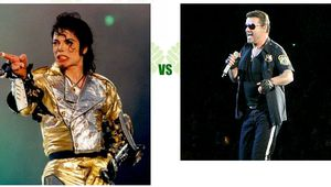 George Michael vs Michael Jackson (25 de junio)