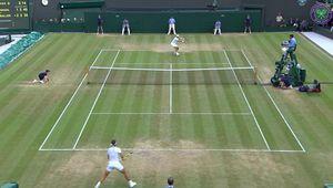 Vidéos - Wimbledon - Extraits du match vs Muller et conférence