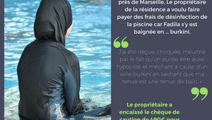 La Ciotat (13) : Il facture le nettoyage de la piscine à une femme s'étant baignée en burkini selon le CCIF