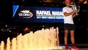 Photos - US OPEN - Le trophée de la victoire !
