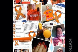 Here's a collage to show some of the support and awareness that was spread by others #OperationWearOrange!  ☺️ I want to thank those of you who support me everyday. You guys are the ones who keep me strong! I heart all of you! #WearOrange4CRPS #CRPS #RSD awareness DAY (Nov. 5) & awareness month! :-)