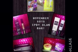 #November 2013 #Ipsy's #GlamBag! #BBlogger #Beauty #Blogger   #Ipsy is 100% my favorite monthly subscription box (As of now)  You get full size products AND you will never believe the price! $10 a month.  I got all of these products (including the make up bag)  I highly recommend this one ladies!  piccollage