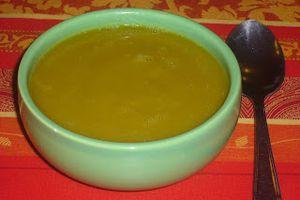Soupe de légumes ( poireaux/carottes)