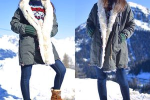 """New post ón the blog """"Mountain Chic """" ❄️🎿💙🗻 www.sofrench.pro #winterwear #mountain #chic #TommyHilfiger #hipanema  (à French Alps)"""