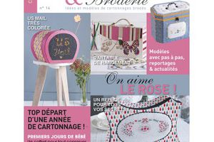 Passion Fil Cartonnage & Broderie n°14