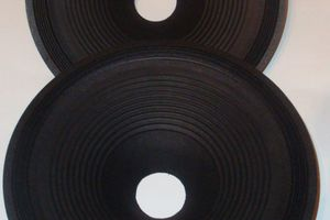 New Paper Cones For Ryu Field Coil Loudspeaker - Project Ryu Blog
