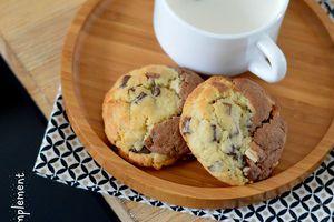 Cookies Bi-Goût Vanille Chocolat