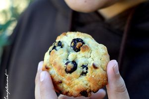 Cookies Chocolat Blanc - Cranberries