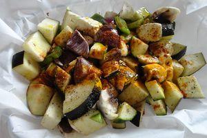 Légumes au four (épis de maïs)