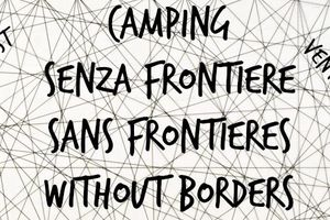 Vintimille : Camping sans frontières (Without borders)