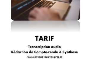 Transcription audio, un vrai métier