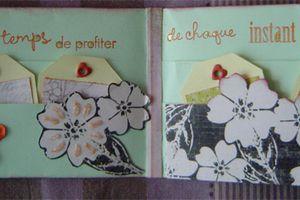 "Album de poche ""porte feuille"""