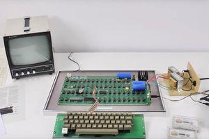 Le tout premier ordinateur d'Apple a la même valeur qu'une maison