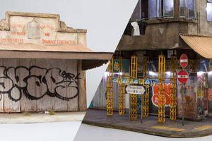 Ces reproductions miniatures d'immeubles abandonnés sont d'une précision à couper le souffle