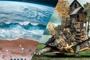 En superposant des images, cet artiste donne vie à ses rêves les plus fous