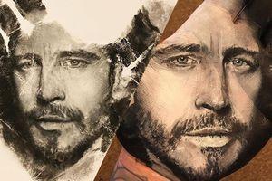 En utilisant sa main comme tampon, cet artiste réalise des portraits au réalisme bluffant