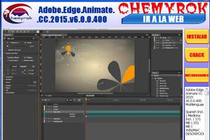 Adobe Edge Animate CC 2015 v6.0.0.400(crea animaciones)