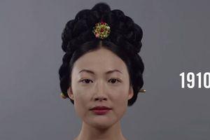 VIDÉO. 100 ans de beauté féminine en Corée en 1 minute