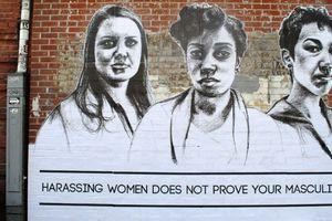 PHOTOS. Du street art contre le harcèlement de rue