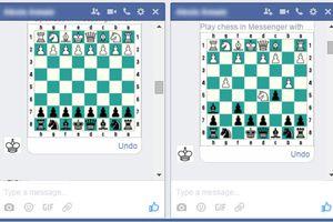 Facebook a caché un jeu d'échecs dans Messenger, voilà comment y jouer