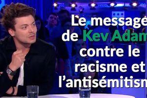 VIDÉO. Le message de Kev Adams contre le racisme et l'antisémitisme face à Bernard-Henri Lévy dans ONPC