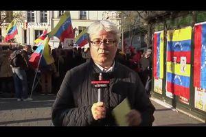 Vidéo du rassemblement le 19 avril à Paris en solidarité avec la Révolution Bolivarienne