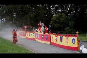 Joute médiévale à Anglès dans le Tarn.