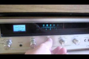 tourne disque Pioneer PL 12D , Pioneer stereo receiver SX 300D - TEST !