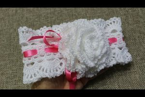 Head band petite fille