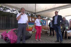 Intervention d'Alain Vacher le 12 octobre lors du Trail de la Paix