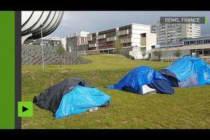 Un campus de l'université de Reims fermé provisoirement après l'installation de migrants
