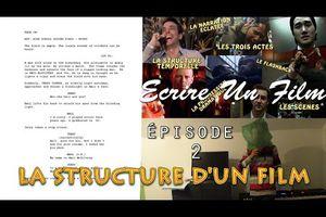 Ecrire Un Film 2# - La Structure D'Un Film (1/2)