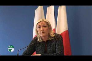 """""""Mme MARINE Le Pen sur Canal2 International"""":..."""