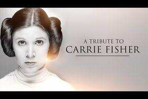Vidéo Hommage à Carrie Fisher (SWCO)