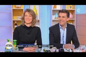 Intervention en direct sur France 5 : La Quotidienne, dossier du jour : les sirops