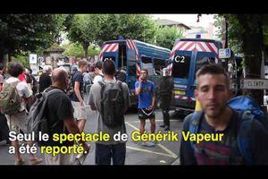 Festival à Aurillac: violents heurts avec les forces de l'ordre