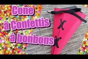 Tuto sur les cornets à confettis