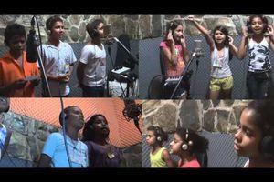 Les enfants du Mouvement des Sans -Terres rendent un hommage aux enfants de Palestine