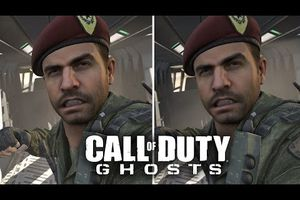 PS4 vs XBOX One - petit compartif video sur le jeu Call of Duty Ghost