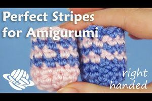 Perfect Stripes for Amigurumi (right-handed version)