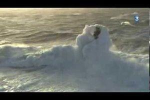 Tempête en mer d'Iroise, samedi 1er février 2014