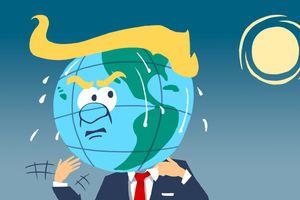Parlez de l'affaire M. Trump et baissez la chaleur--