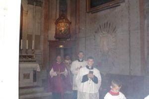 Mgr Ellul, recteur de l'Eglise St Charles